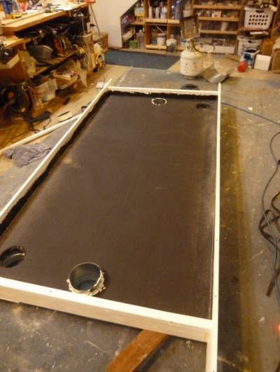 Construction Of A Solar Air Heating Collector Using A Flow