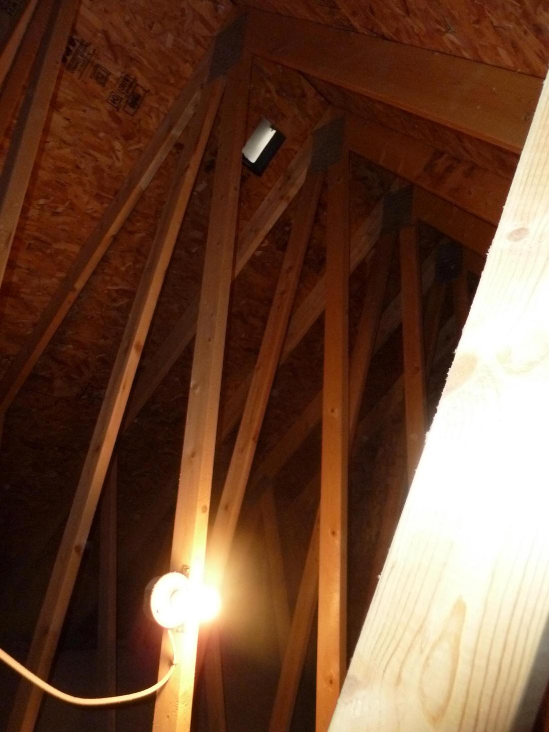 using attic heat recorded attic temperatures
