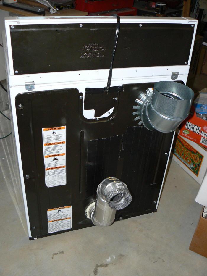 Solar Clothes Dryer Dryer Modification Method 1