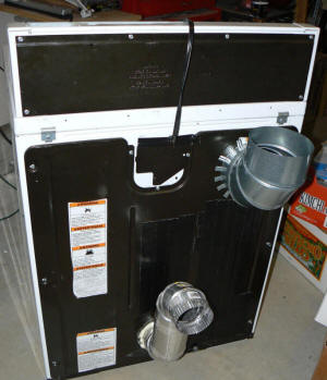 Converting A Clothes Dryer To Use Solar Heated Attic Air