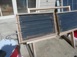 Cpvc solar collector with aluminum fins for Is pex better than cpvc
