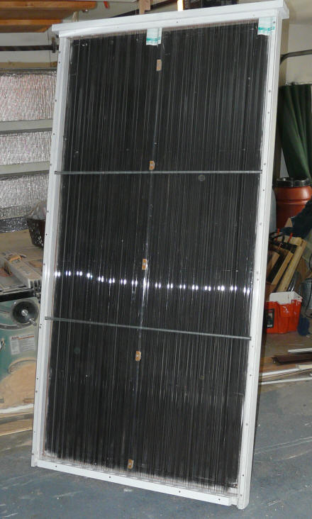Experimental Solar Collector Using Hybrid Copper Aluminum