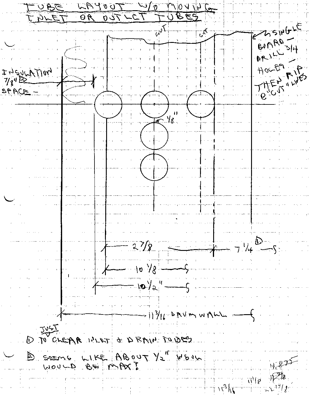 Grey Water Heat Exchanger Design Notes Piping Layout Of Let Me Know What You Think Gary