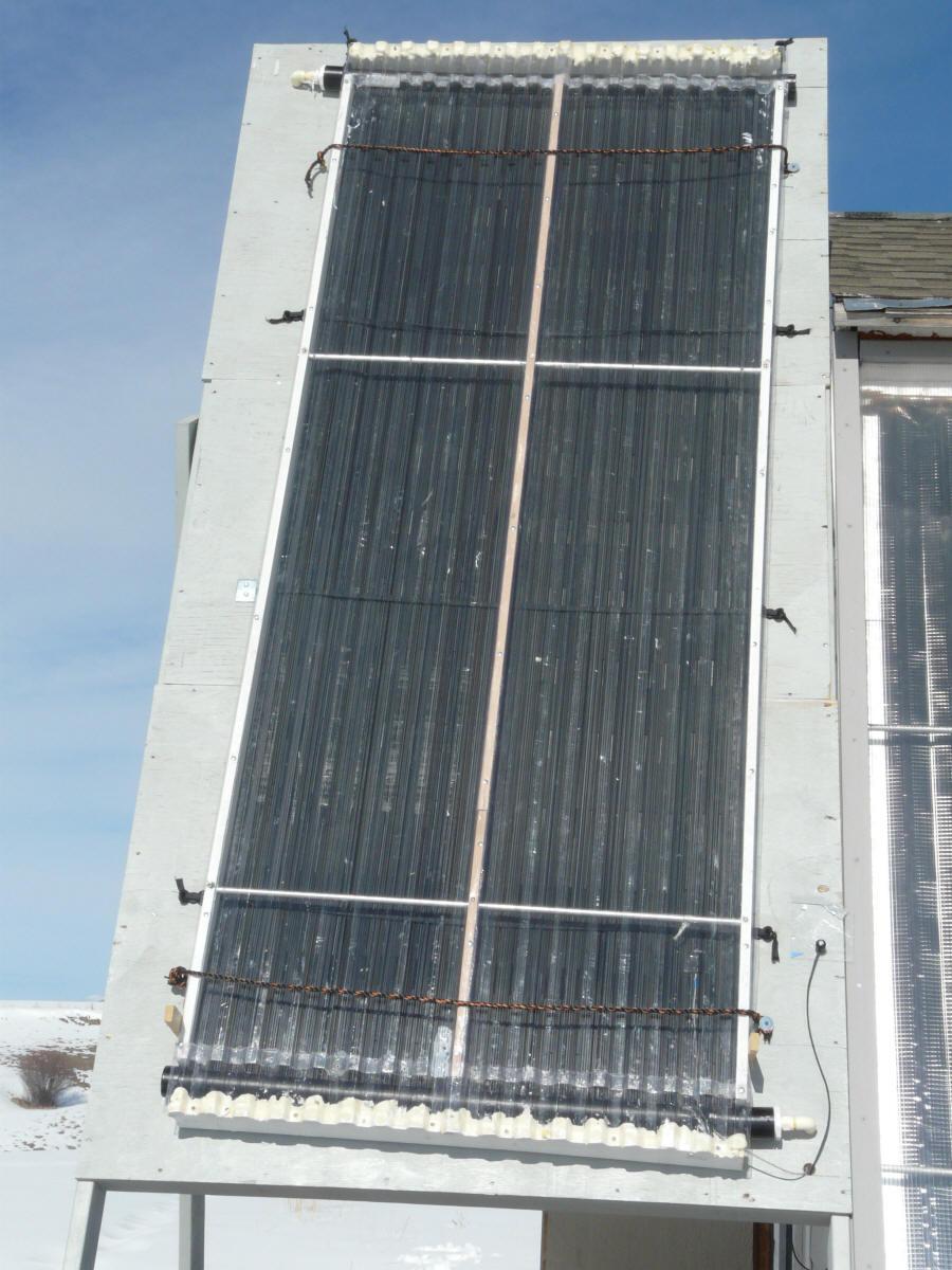 Off The Shelf Diy Solar Water Heater Glazed
