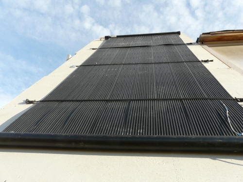 Off the shelf solar dhw cheap and easy diy solar water heating matt sytle collector diy solar water heating solutioingenieria Image collections