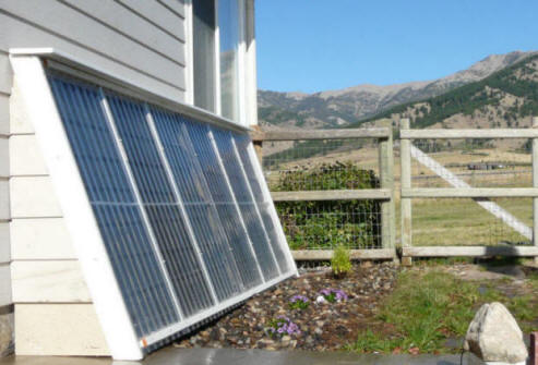 DIY site Instructables details how to build a solar thermal water heater on the cheap using parts from a recycled refrigerator grill and a few other bits and pieces.