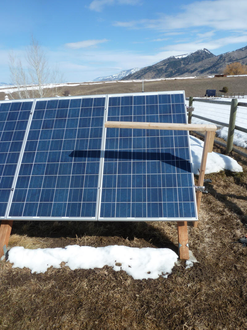 Effect Of Power Line Wire Shadows On Pv Array Output