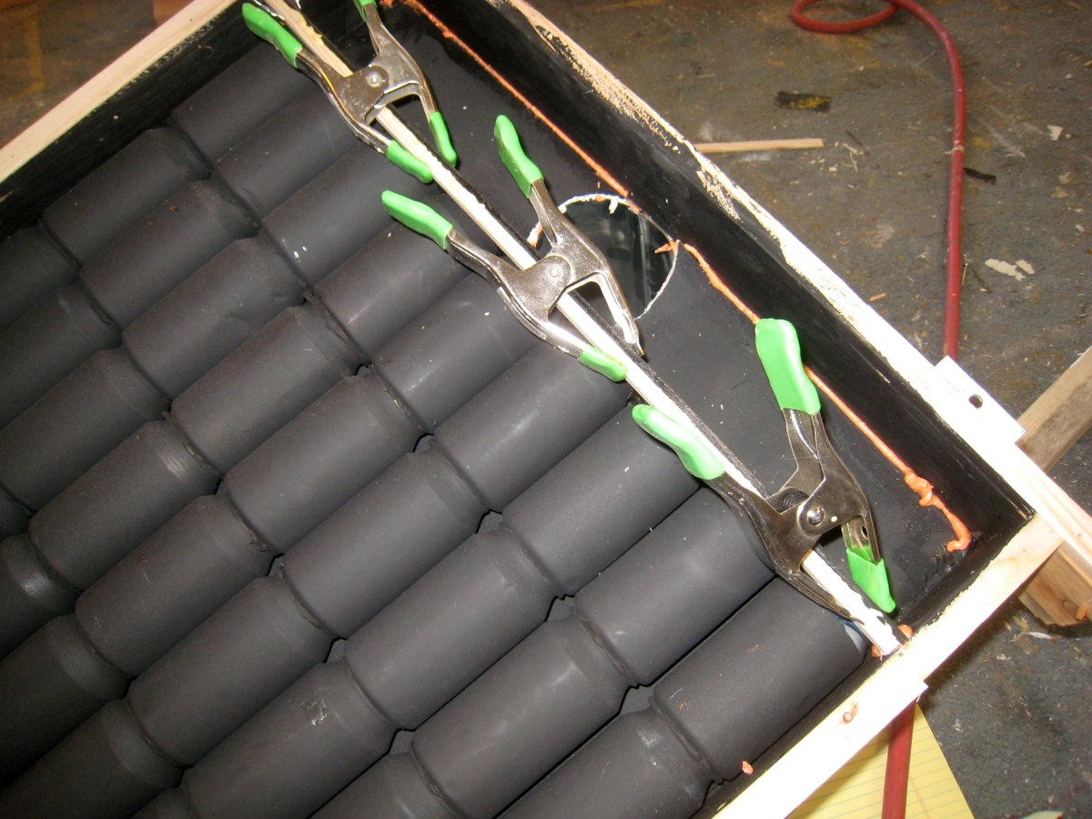 Top Of Manifold Panel Will Be Bonded To.