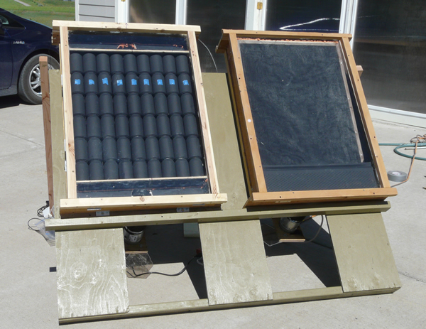 DIY Solar Air Heating Collectors: Pop