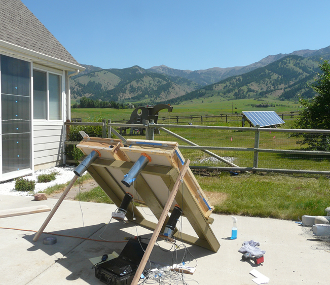 solar thermal collector testing