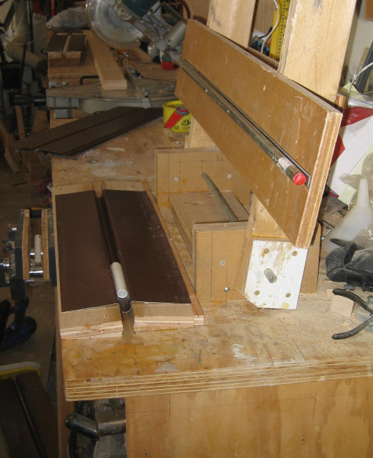 ... inch bar and the plywood was added to make the groove slightly deeper