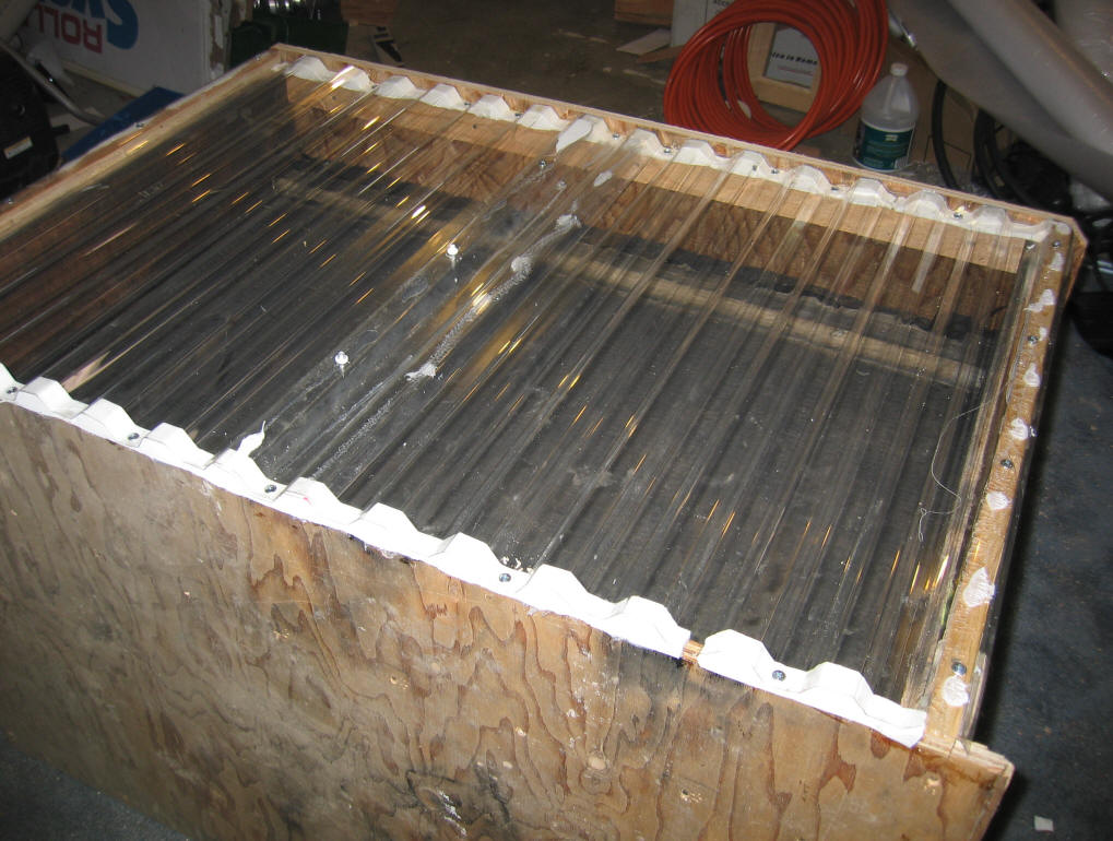 Solar Heated Stock Tank