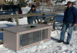 Solar Heated Stock Tank