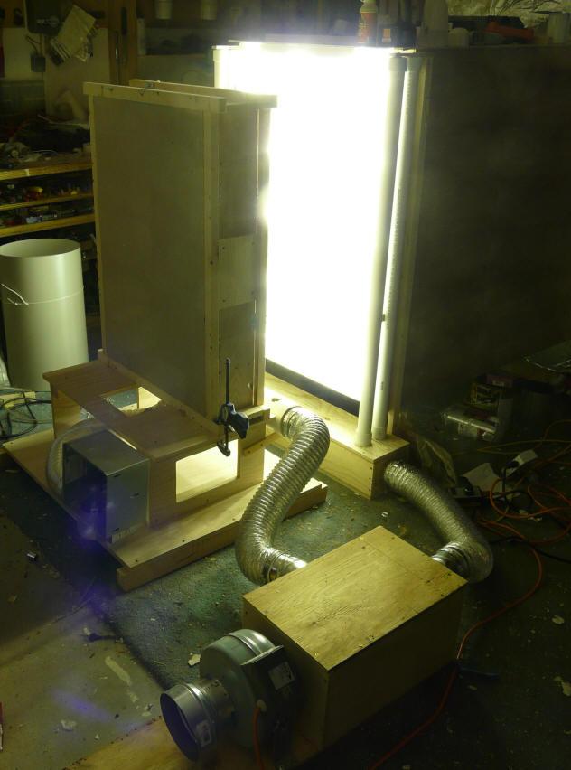 Diy Sun Simulator For Solar Thermal Collector Testing