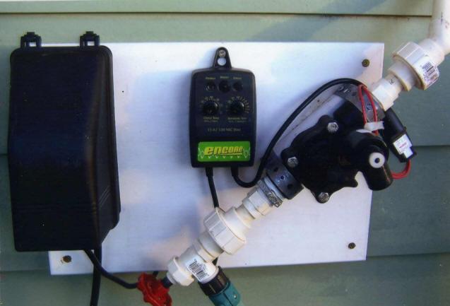 Roof Sprinkler Cooling Systems