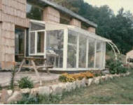 Doug's solar greenhouse