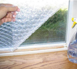 Builditsolar solar energy projects for do it yourselfers to save bubble wrap window insulation solutioingenieria Image collections