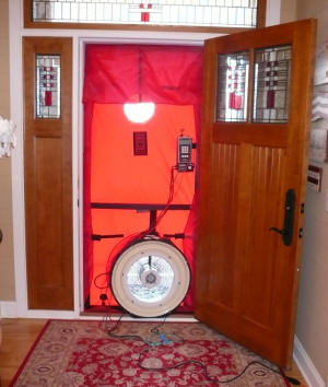 blower door & A DIY Blower Door -- Easy to Build -- Easy to Use -- Cheap