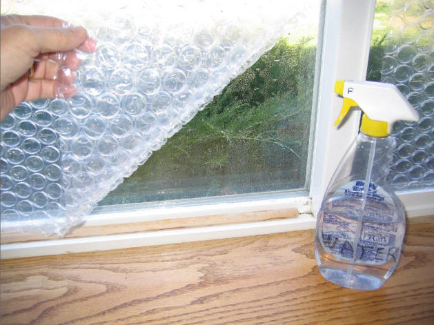 how to clean windows inside the house