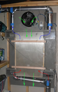 clothes dryer heat recovery heat exchanger