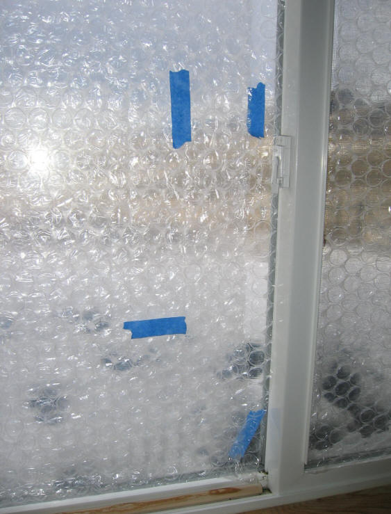 Bubblewrap for Window insulation