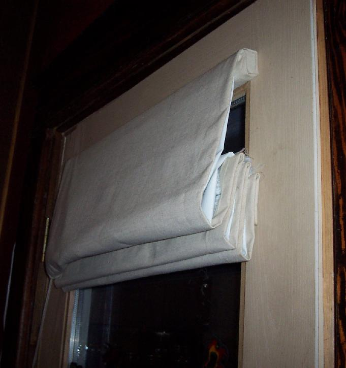Diy Insulating Roman Shades