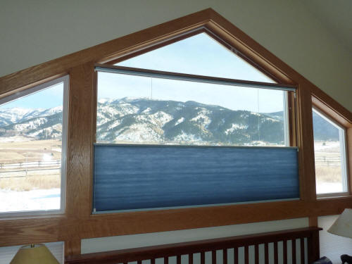 Bottom up insulating shades for light and insulation for Best insulated glass windows