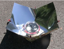 the Copenhagen solar cooker