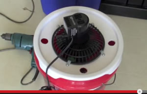 bucket cooler for a car