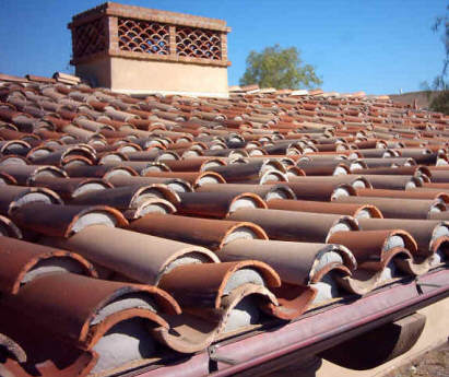 Cooling Clay Tile Roofs With Roof Sprinklers
