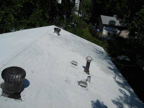Experiment With White Roof Cooling Effect