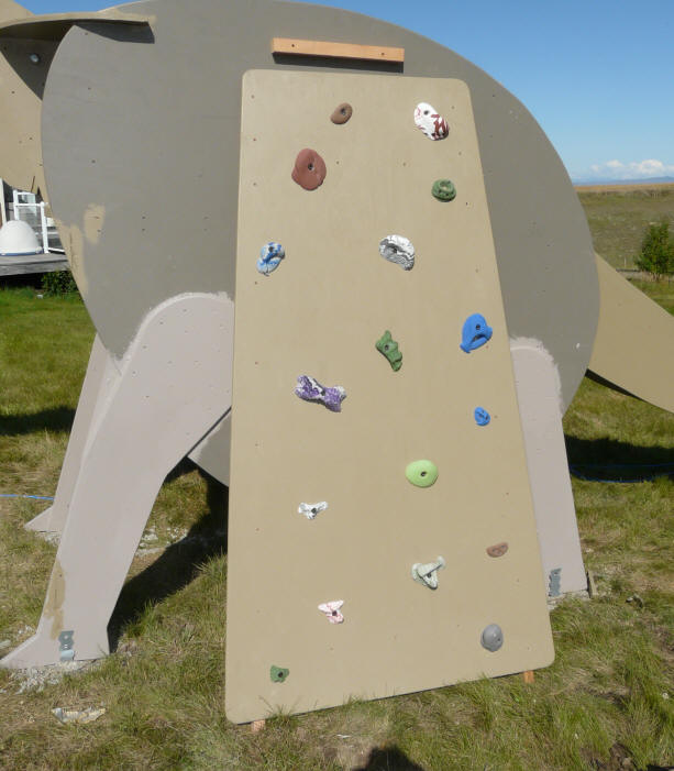 Solar Dinosaur Play Structure