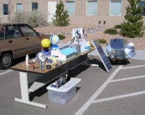 Fun and educational solar and renewable energy projects the trailer makes visits on request this program is probably limited to nm but you could start one in your state solutioingenieria