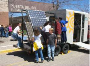 Fun and educational solar and renewable energy projects these are projects for students that involve renewable energy solar physics model wind generators pv powered boats and cars and even a solar balloon solutioingenieria
