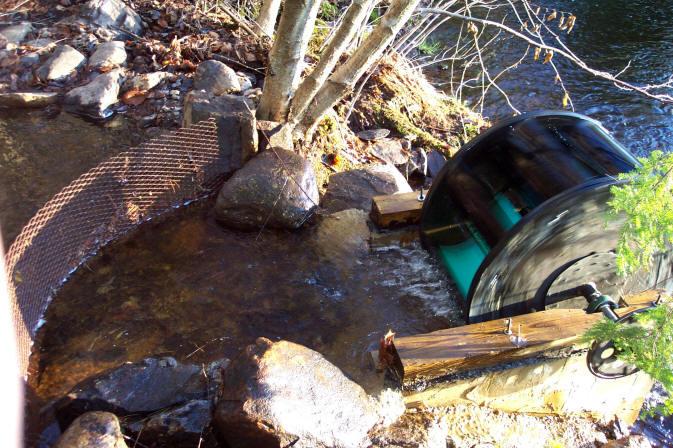 Making An Undershoot Water Wheel