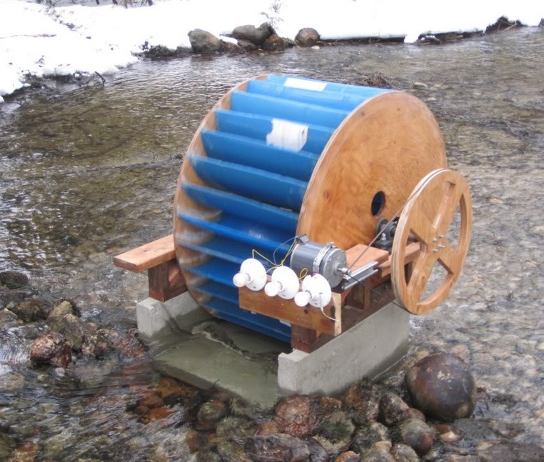 Diy Waterwheel Generator