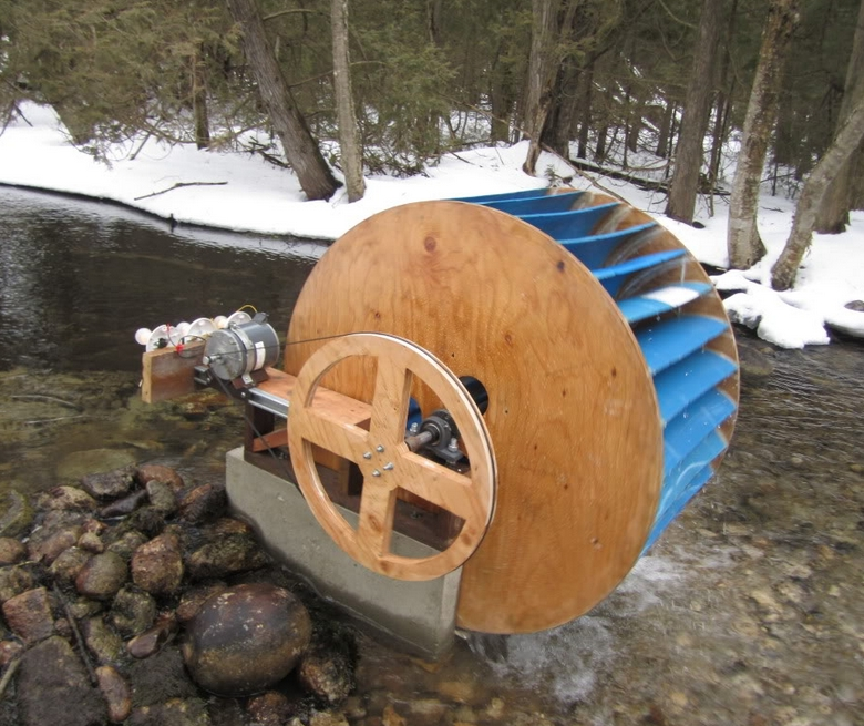 Homemade Hydroelectric Generator Materials - Homemade Ftempo