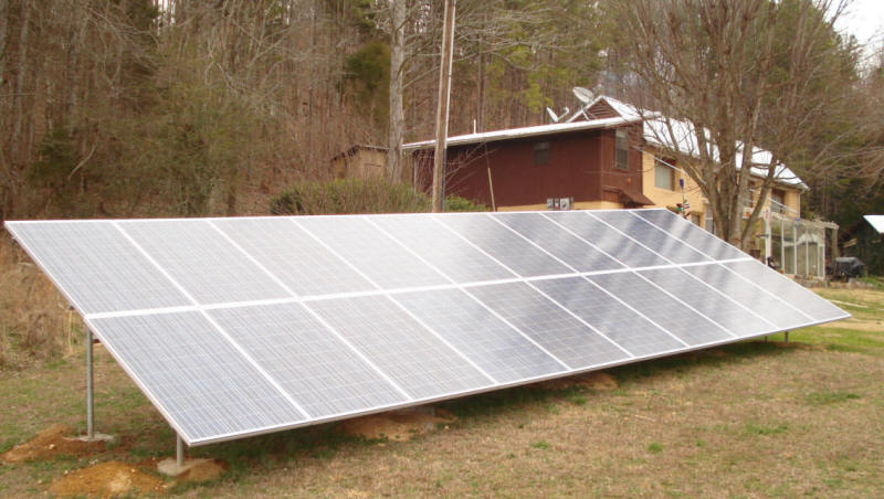 Doug S New 4 6 Kw Micro Inverter Diy Grid Tied Pv Array