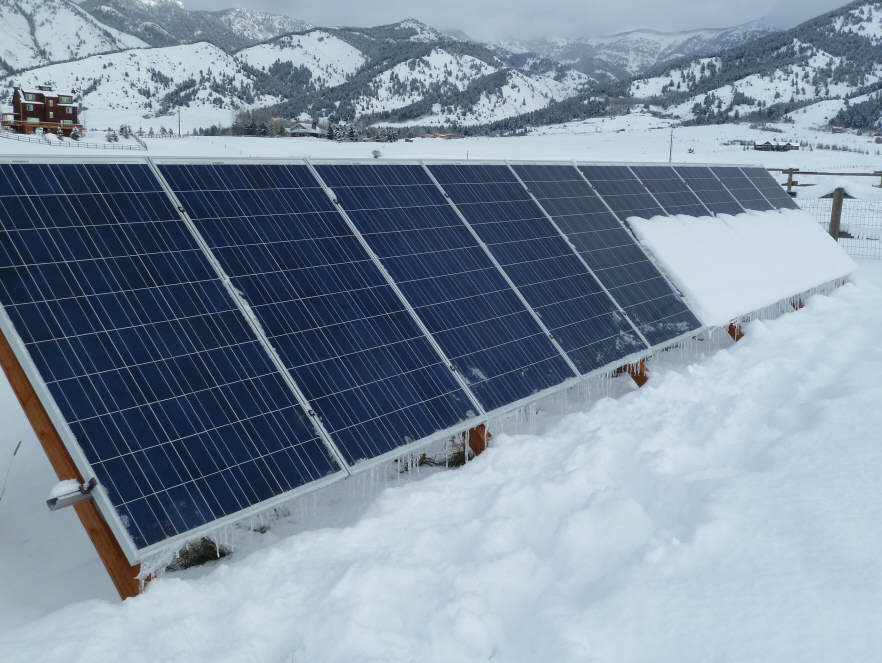 Pv Power Loss Due To Snow On Panels