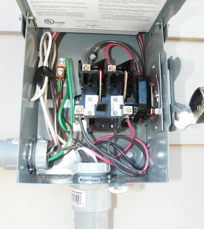 diy pv system installation wiring rh builditsolar com Main Breaker Panel Wiring 200 Amp Panel Wiring Diagram