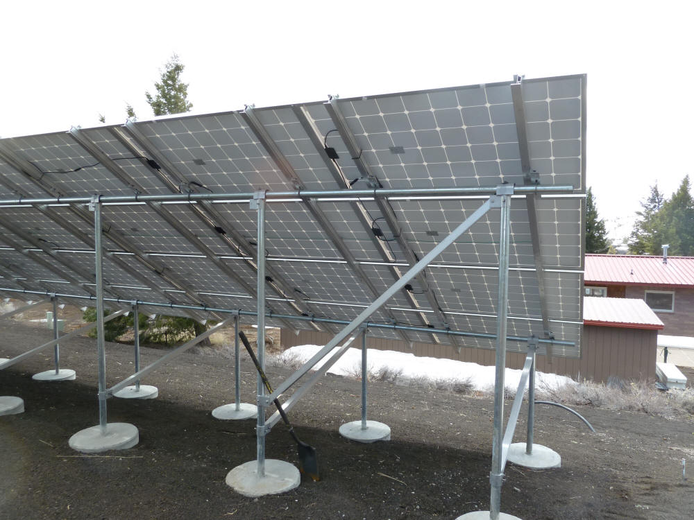 Detail Pictures Of Pv Array At Craters Of The Moon