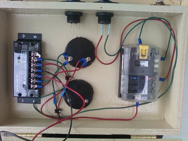A small portable pv system for camping emergencies