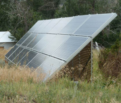 A Simple Diy Timber Frame Pv Ground Mount