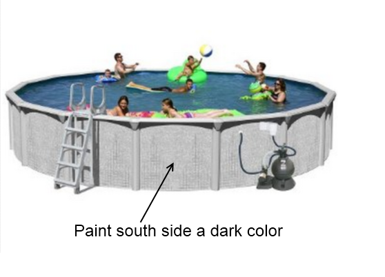 A Very Simple Pool Heating Idea