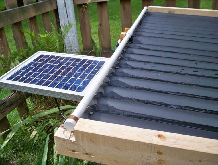gide file how to build a solar powered swimming pool heater