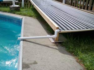 A Unique Open Flow Diy Solar Pool Heating Collector