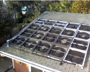 Simple Cheap Solar Pool Heater