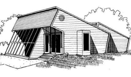 Passive solar home plans western section for Solar house plans