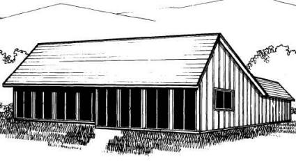 passive solar home plans western section
