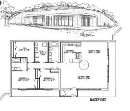 Plans for passive solar homes for Earth sheltered home design